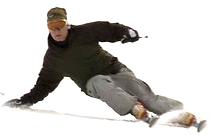 Image de skieur carving
